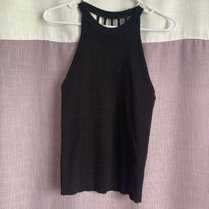 Black Knit Tank Top - Forever 21